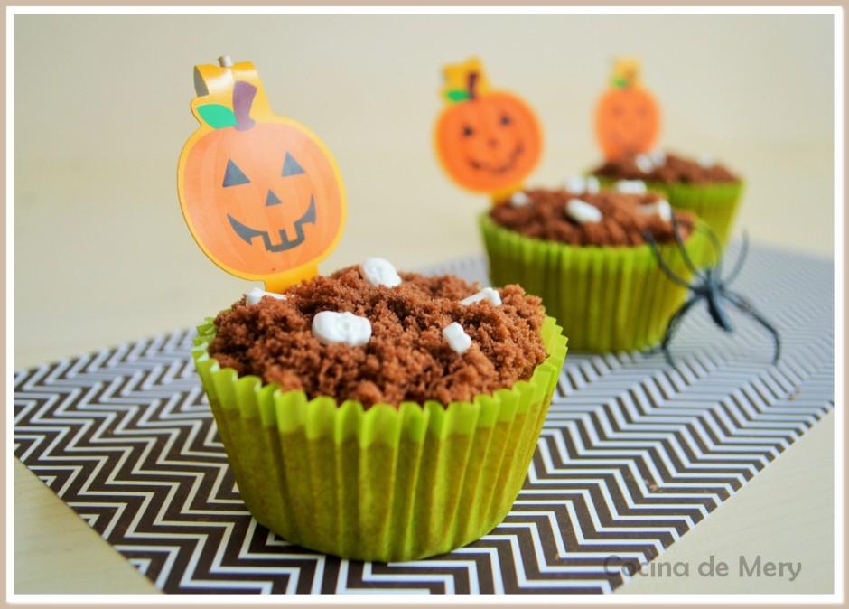 Cupcakes de calabaza y especias